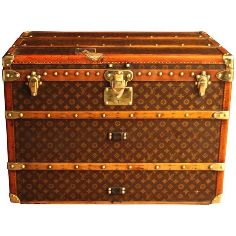 1920s LV Hat Trunk