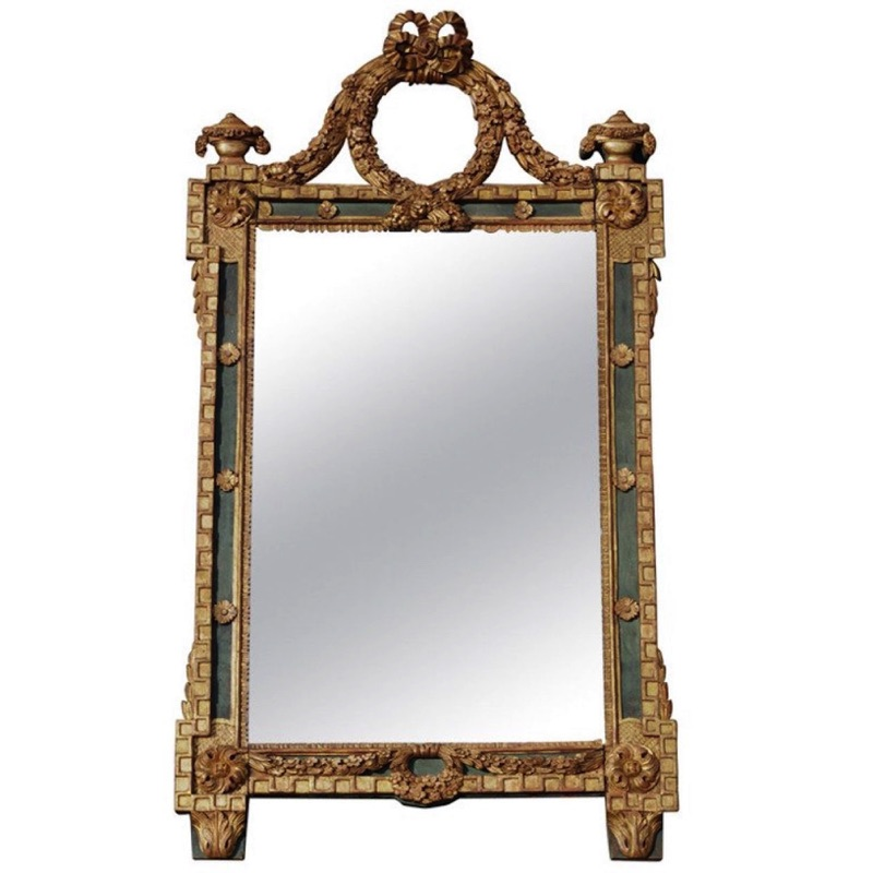18th c. Louis XVI Style Mirror
