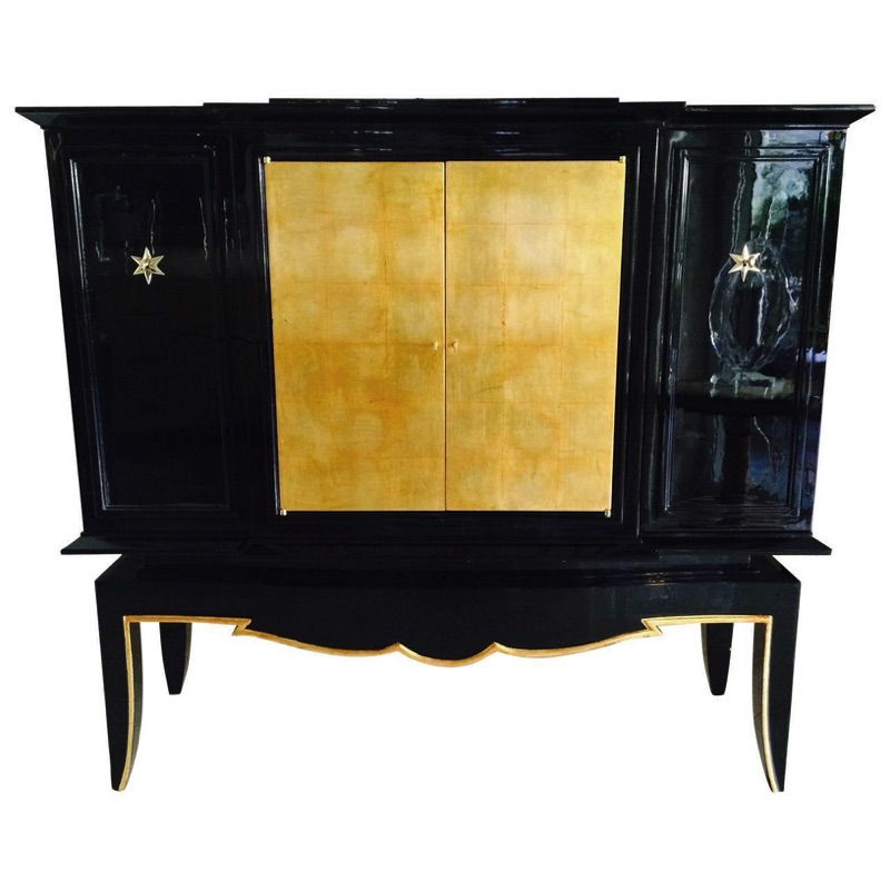 1940s Lacquered Dry Bar