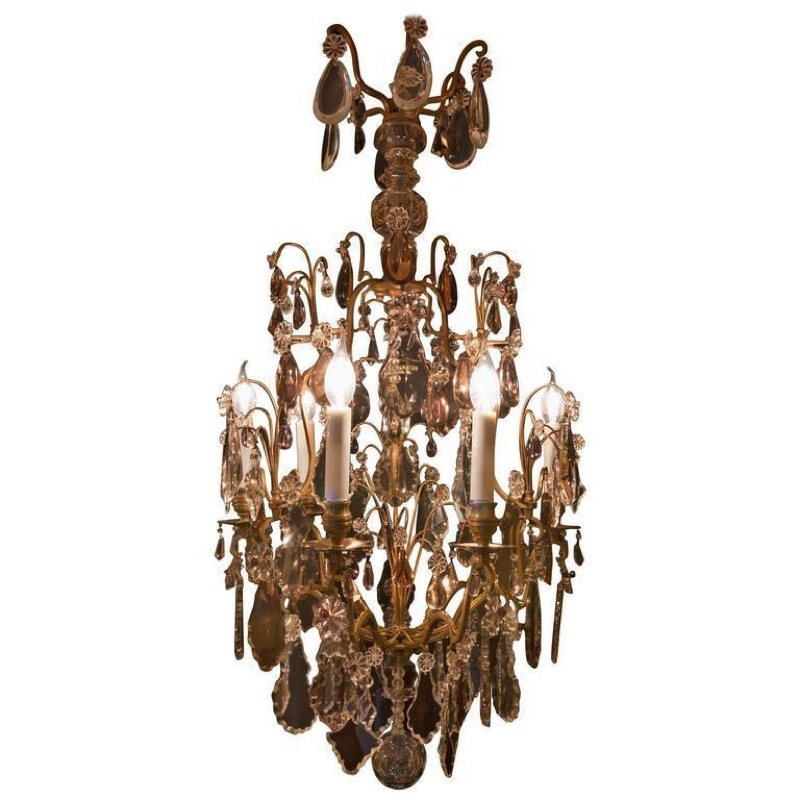 Late 19th c. Crystal Chandelier