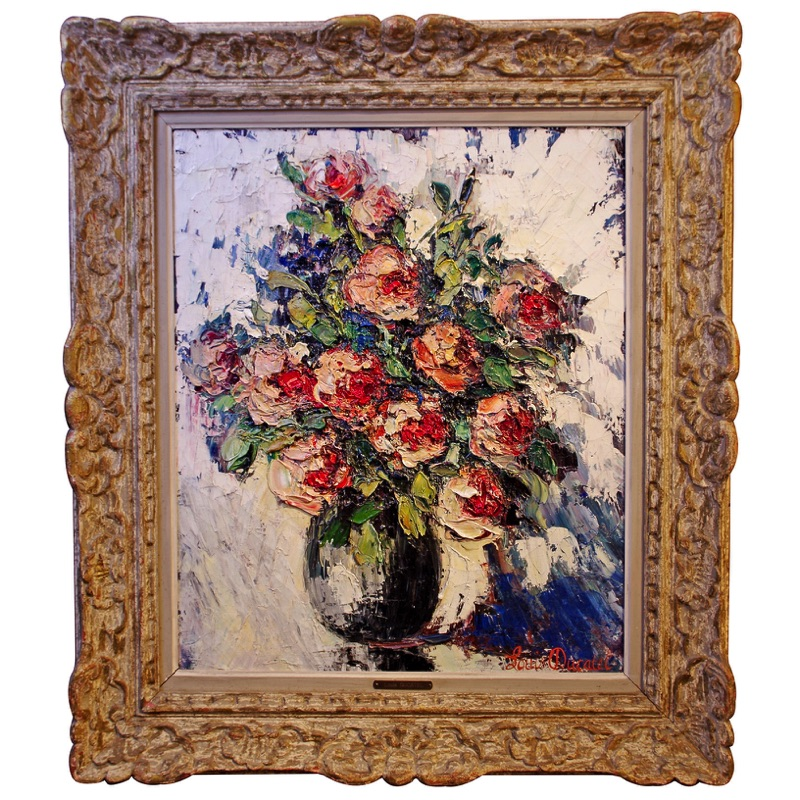 Flowers in a Vase ca. 1940