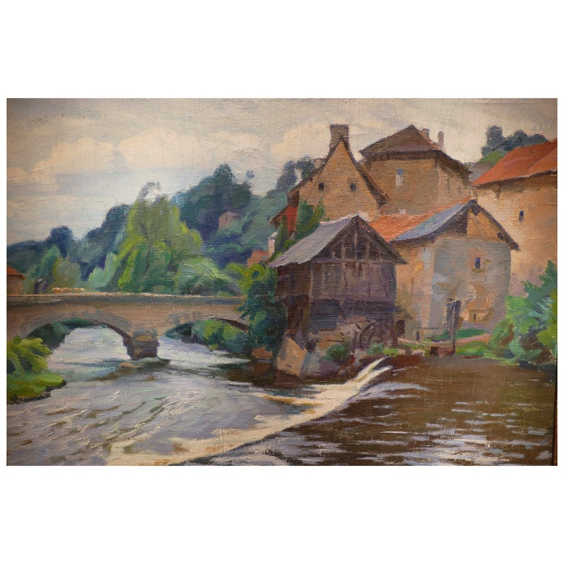 Watermill on the Creuse