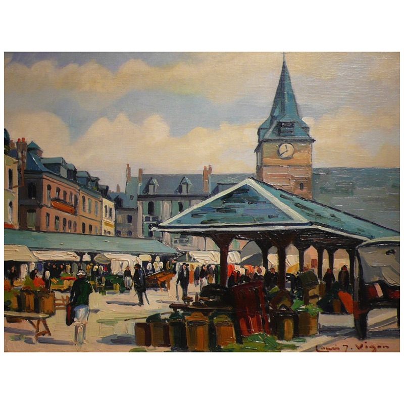 A Marketplace in Normandy