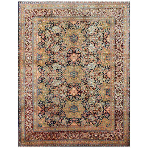 TABRIZ Persian Knot-Carpet